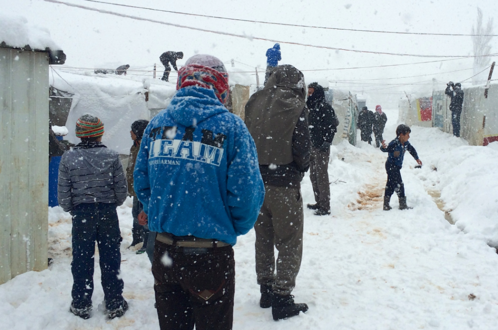 Upcoming winter weather poses threat to refugees around the world