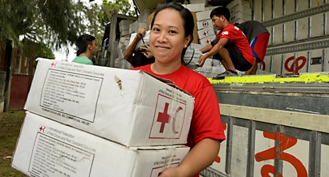 IFRC launch new 'game changer' humanitarian fund