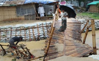 First monsoon rains hit Cox's Bazar